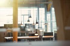 Locaux et bureaux d'une entreprise