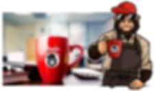 ape with office coffee 01.jpg