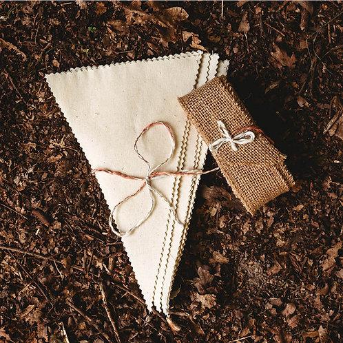 Fabric Bunting Kit