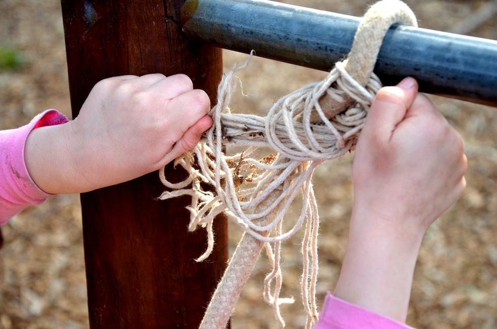 Rope tying