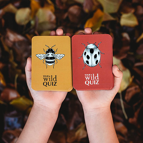 Your Wild Quiz card game