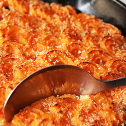 Quick Sweet Potato Lentil Shepherd's Pie