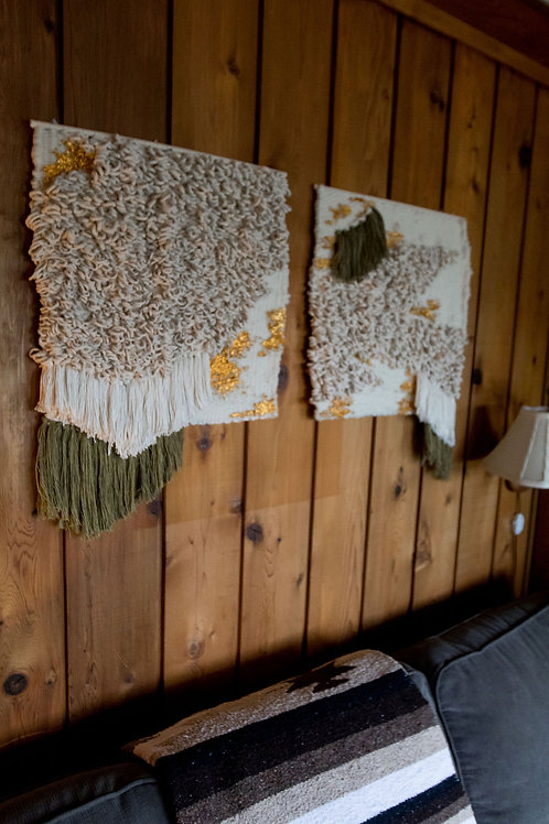 Untitled, Woven Wall Hangings