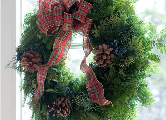 Country Wreath 18""