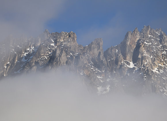 Cascade Mountains Waking Up
