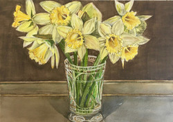 Trumpeting Spring from a Vase