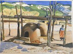 Baking Bread in Winter
