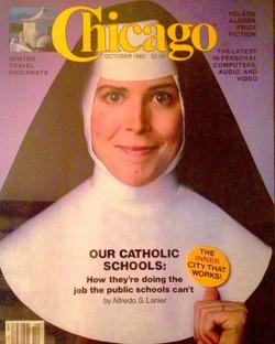 Cover of Chicago Magazine