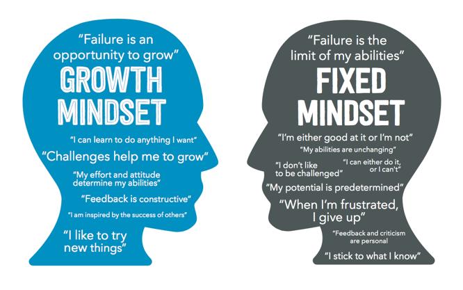 Qual é a sua forma de pensamento? Mindset fixo ou de crescimento?