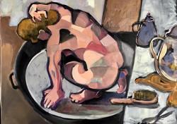 Nu d'après Degas, 2019