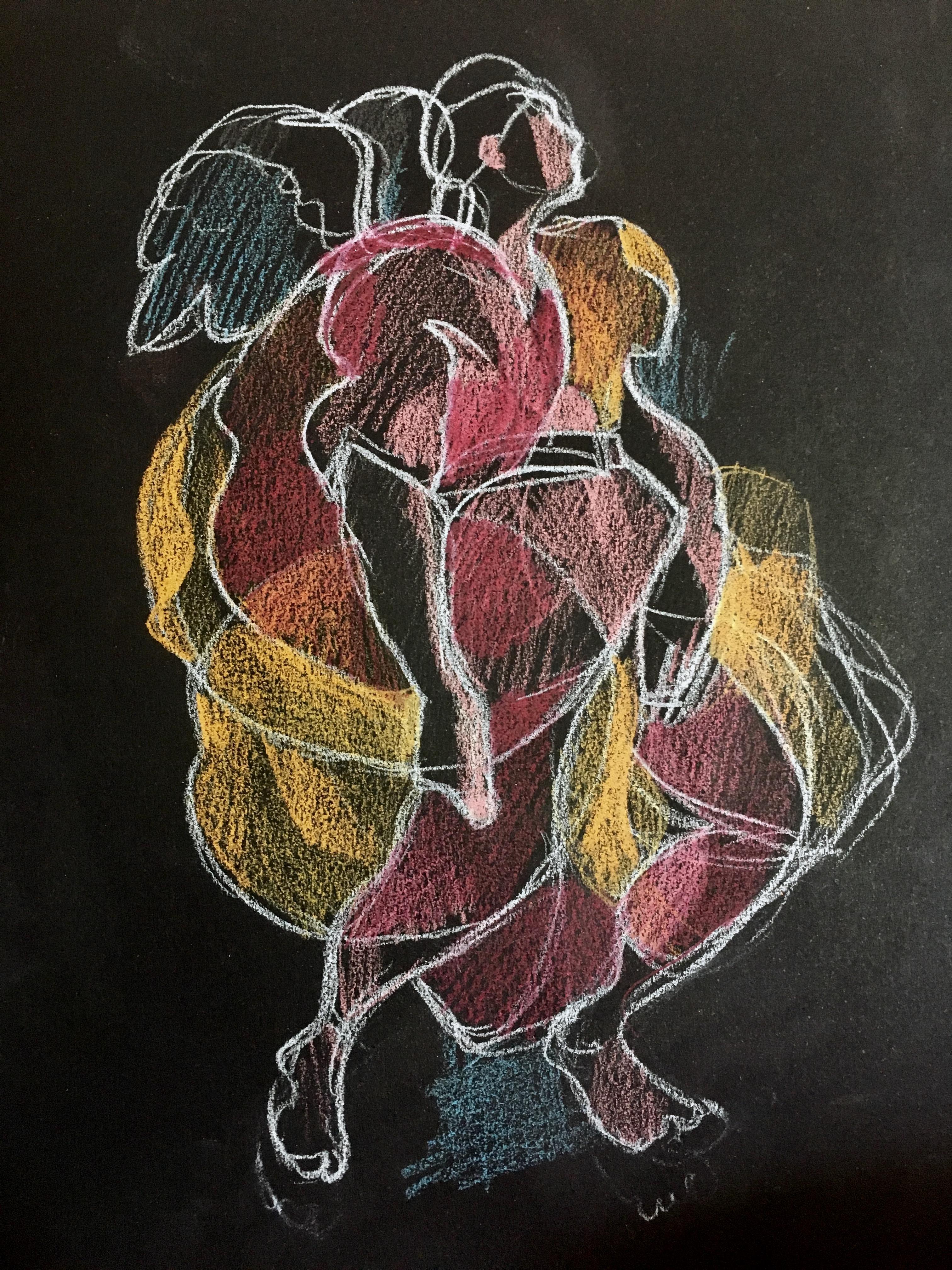 Ange Pontormo dessin 2018
