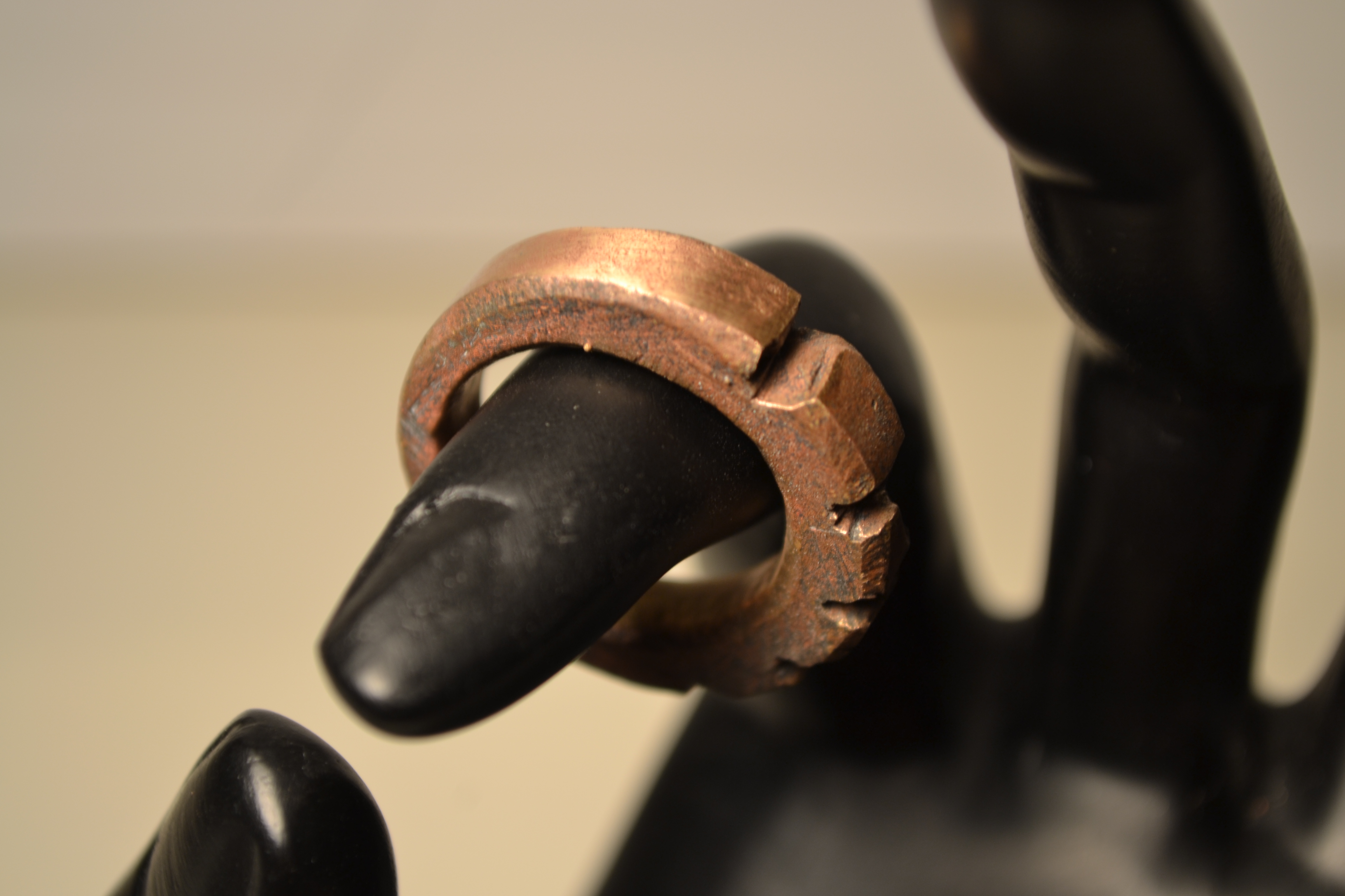 Cast Copper Ring