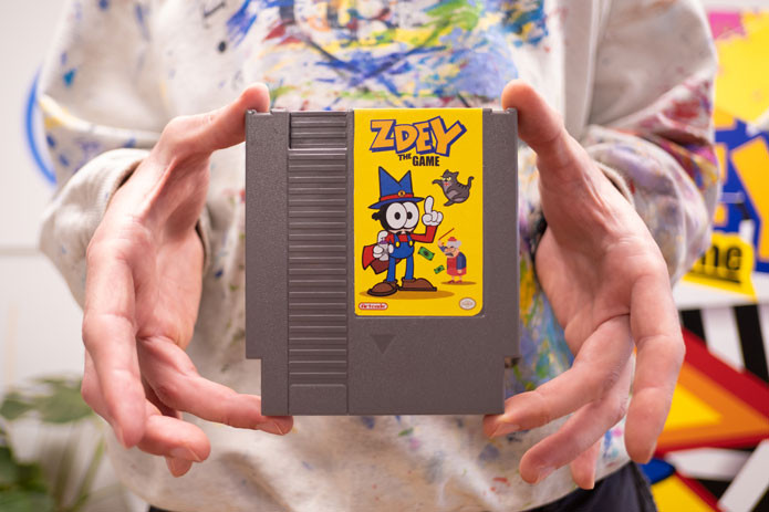 A new game for the nes, zdey the game, nintendo NES, Indie Game, Retrogaming