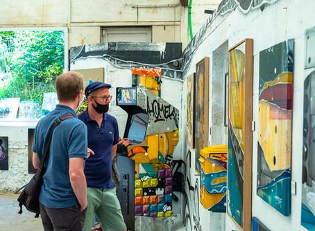 Art'cade s'invite à Ville'Art'Ville