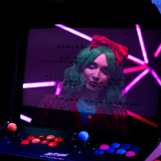 Natoo arcade mirror selfie bone d'arcade Artcade Art'cade Homek