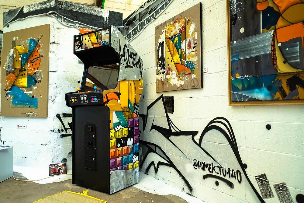 Borne d'arcade unique, par Homek
