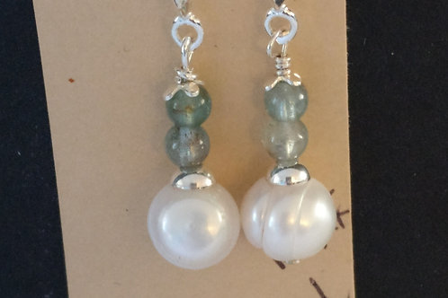Apetite  and Cultured Pearl Earrings