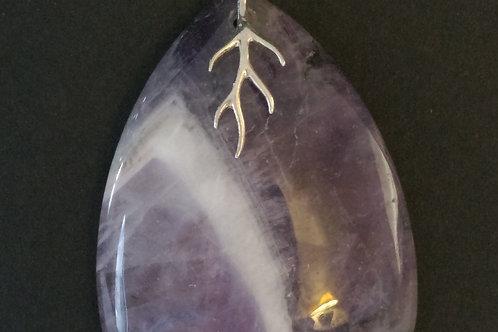 Beautiful  Natural Amethyst Pendant