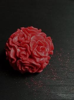 Savon Soap Box Boule Rose