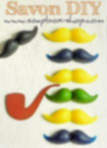 faire un savon moustache