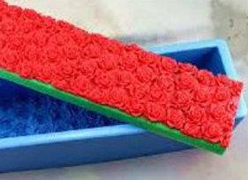 Moule Bloc Gravé de Roses