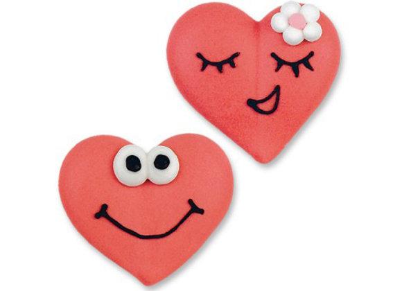 Coeurs Amoureux - Lot de 2