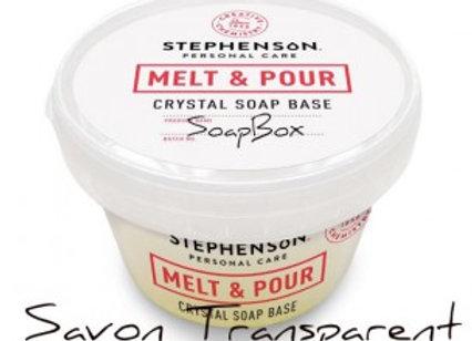 Base à savon Melt and Pour Transparente - SoapBox