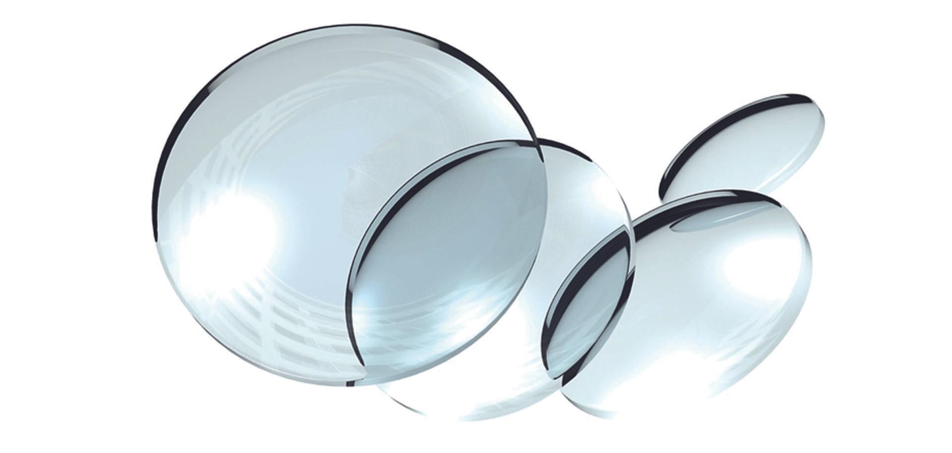 Nieuwe brillenglazen met voorschrift