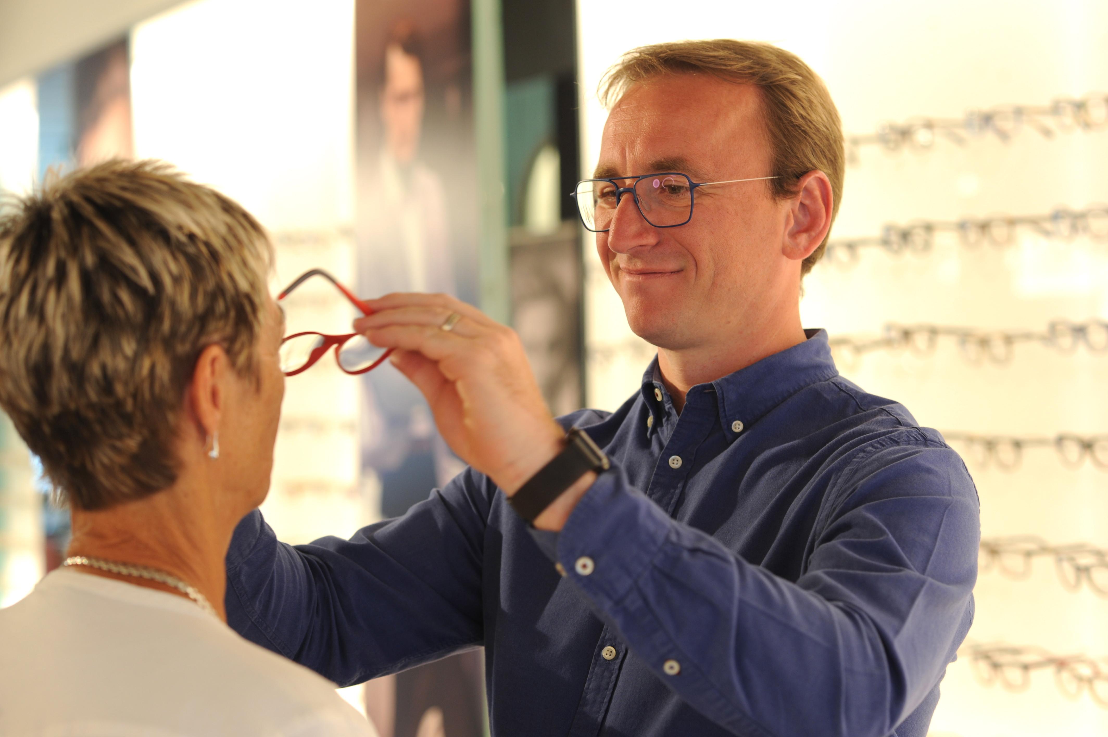 Afhalen bril