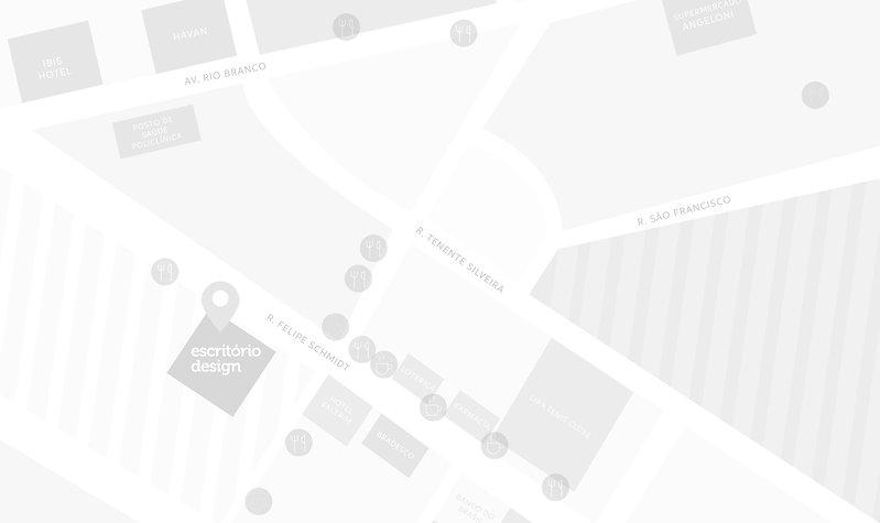 Mapa Escritório Design
