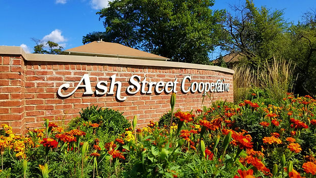 Ash Street Cooperative front entrance
