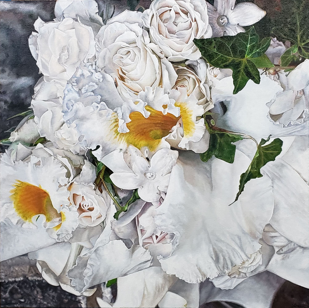 Wedding Anniversary Bouquet Painting