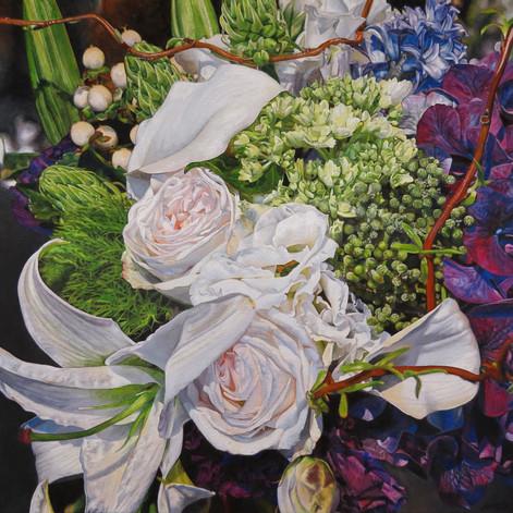 Floral Bouquet Painting