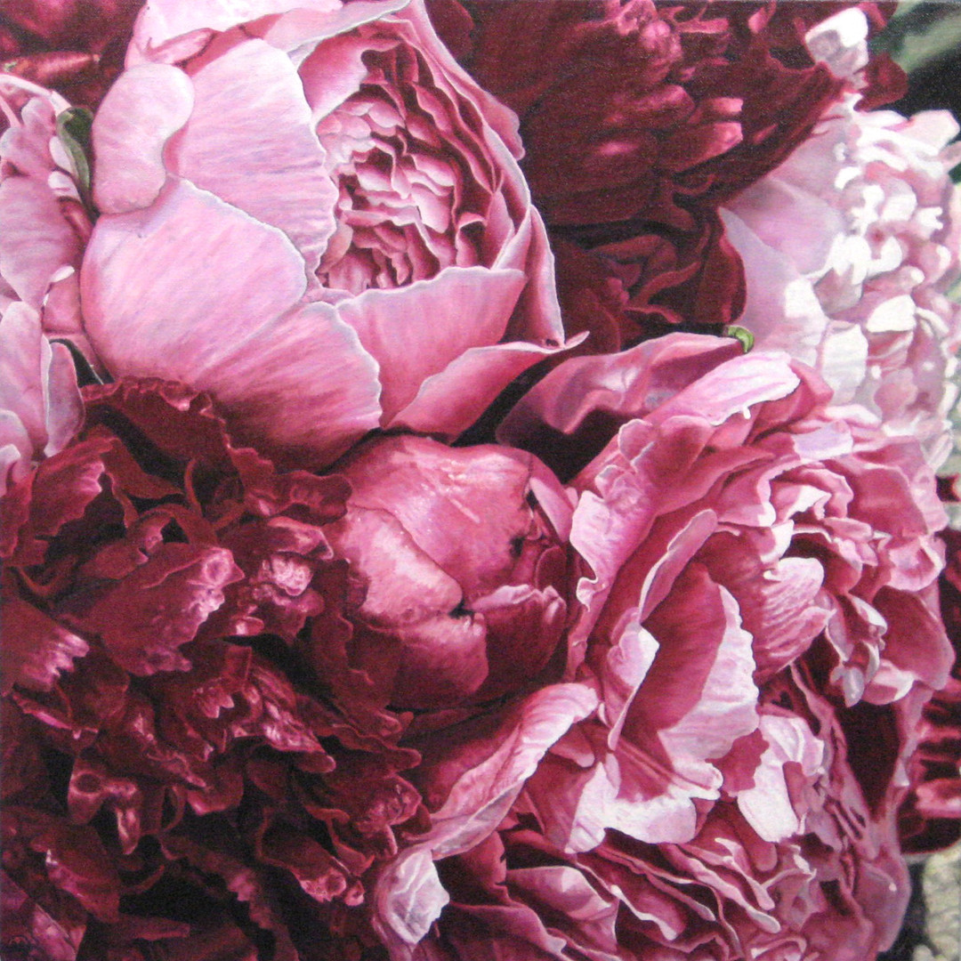 Alana & Ben Wedding Bouquet Painting