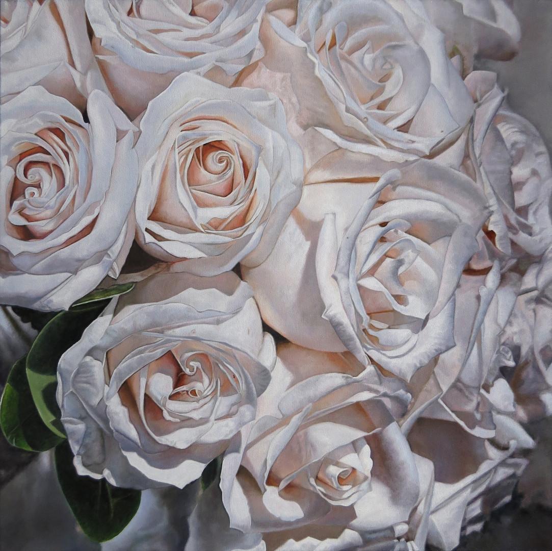 Elizabeth & Dan Wedding Bouquet Painting