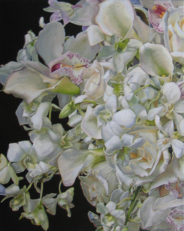 Laura & D.R. Wedding Bouquet Painting