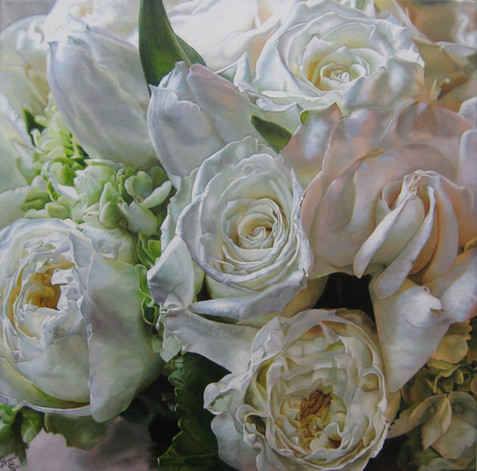 Argentina & Jesse Wedding Bouquet Painting