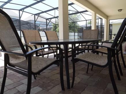 Patio Area + outdoor dining