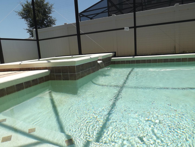 Pool + Spa Area