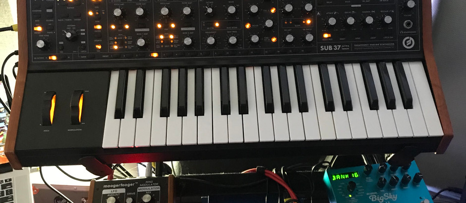 Moog Sub37 + Native Instruments FM8 Hybrid Bass Lines
