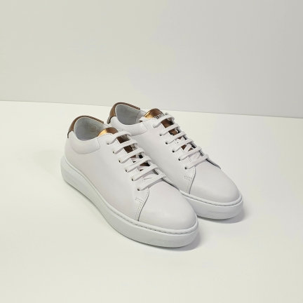 SNEAKERS BIANCA E BRONZO - NATIONAL STANDARD