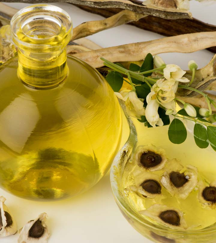 Extracted Moringa oil from dried seeds