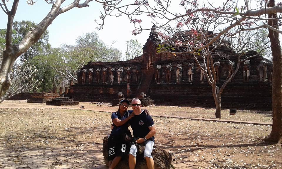 Kamphaeng Phet province UNESCO World Heritage Historical Park in Thailand.