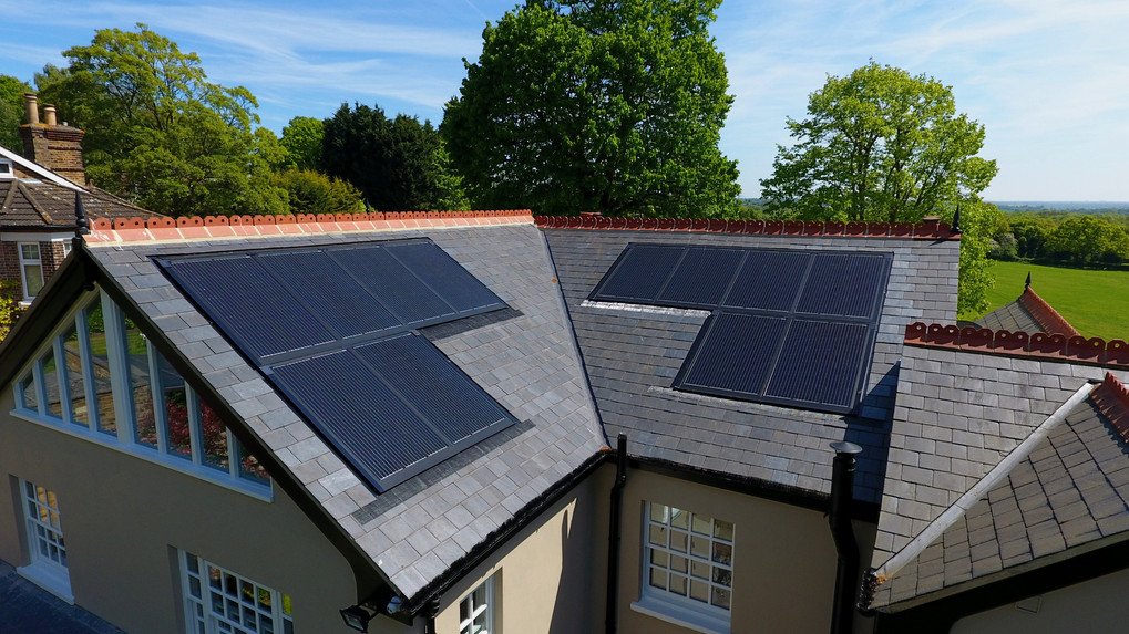 Theydon Bois In-roof Solar PV