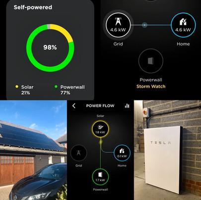 Thaxted Tesla Powerwall 2