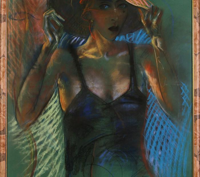 Женщина в шляпе (Катерина)