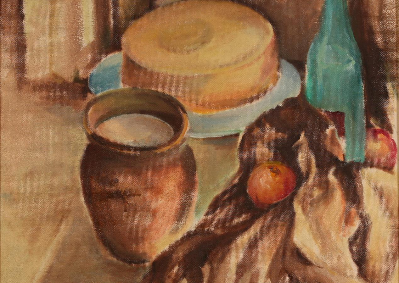 Натюрморт с сыром