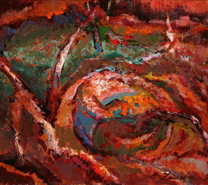 Оранжевая композиция