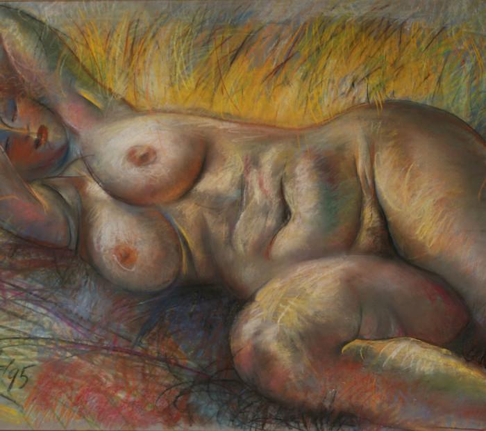 Женщина во ржи