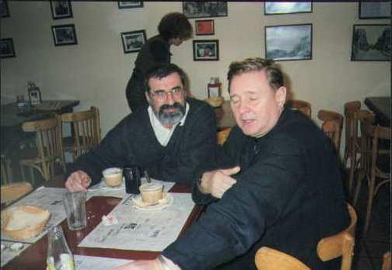 ... и с режиссером Романом Виктюком